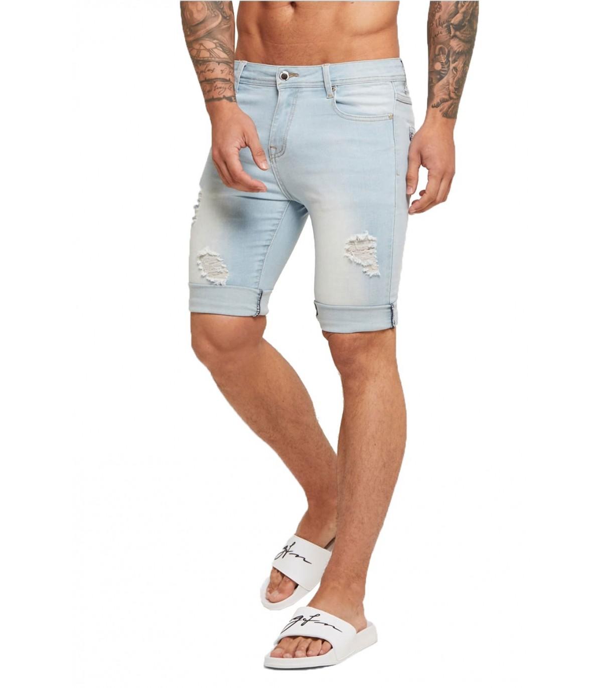 Pantalones de ch/ándal de Punto de Moda nobrand Pantalones Cortos Casuales para Hombres