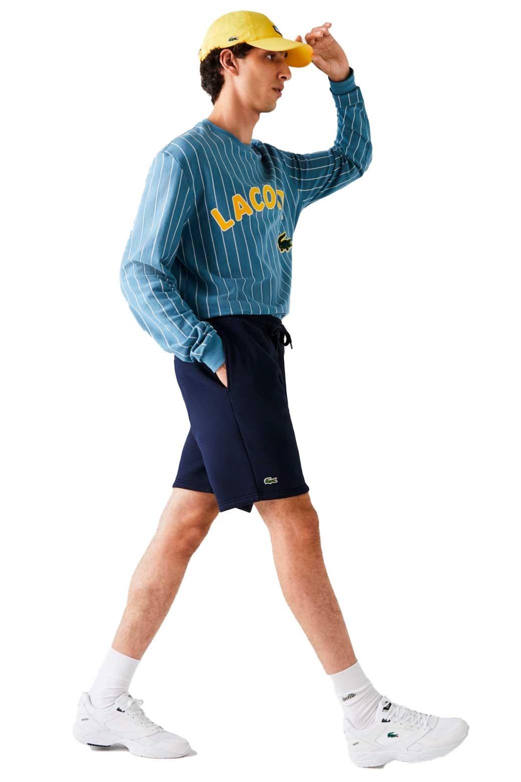 Pantalon Corto Lacoste Sport Para Hombre Azul Marino